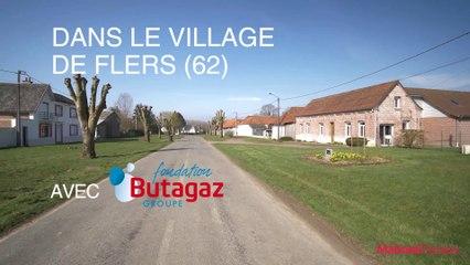 Rénovation de logements par la Fondation groupe Butagaz  dans le village de Flers