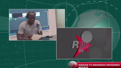 #XIBAAR YI #RFM 13H AVEC MAMADOU MOUHAMED NDIAYE & LA RÉDACTION - 08 JUILLET 2021