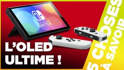 VAUT-ELLE LE COUP ? - 5 Choses à Savoir sur la Nintendo Switch OLED