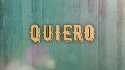 Los Ejemplares Del Rancho - Quiero