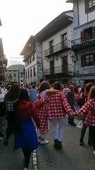 Imagen de las fiestas suspendidas de Lesaca, en Navarra. NAVARRACOM