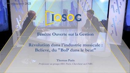 Révolution dans l'industrie musicale : Believe, du BoP dans le beat [Thomas Paris]