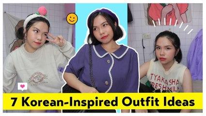 7 Korean-Inspired Outfits  | Lookbook