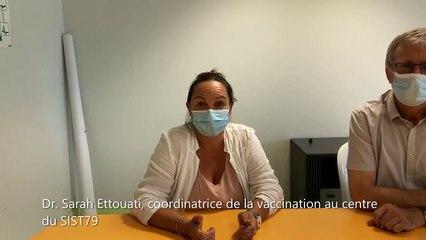 VIDEO. Le SIST 79 vaccine à Niort, Bressuire, Parthenay et Thouars