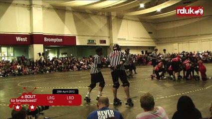 London Rollergirls vs Leeds Roller Dolls Complete Bout (Part 2 of 2)
