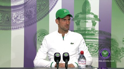 """Wimbledon 2021 - Novak Djokovic can join Roger Federer and Rafael Nadal on Sunday with 20 Grand Slams : """"That would mean a lot ..."""""""