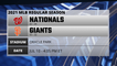 Nationals @ Giants Game Preview for JUL 10 -  4:05 PM ET