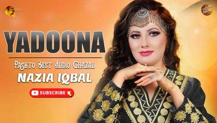Yadoona   Pashto Best Audio Ghazal   Nazia Iqbal   Spice Media
