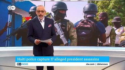 Haiti police capture 17 alleged president assassins  DW News