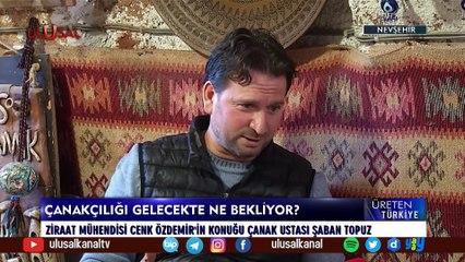 Üreten Türkiye - 10 Temmuz 2021 - Cenk Özdemir - Nevşehir Avanos - Ulusal Kanal