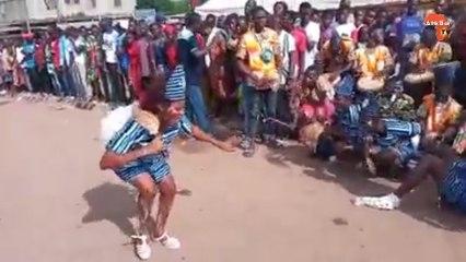 Arrivée de Gbagbo à Daoukro