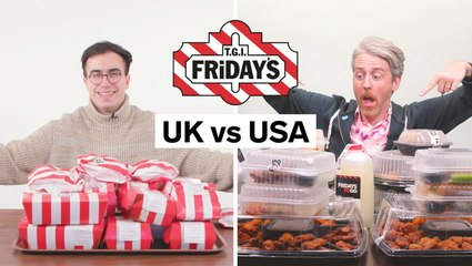 All the differences between UK and US TGI Friday's