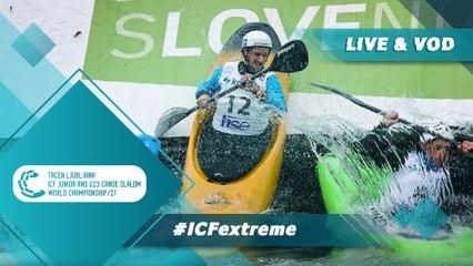 2021 ICF Canoe-Kayak Slalom Junior & U23 World Championships Ljubljana Slovenia / Extreme