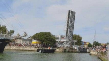 L'arrivée du 3 mâts Belem à La Rochelle