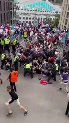 Euro 2020 : sans billet, des spectateurs forcent l'entrée du stade de Wembley !