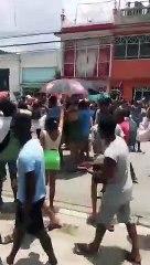 Protestas de Cubanos en Santiago de Cuba