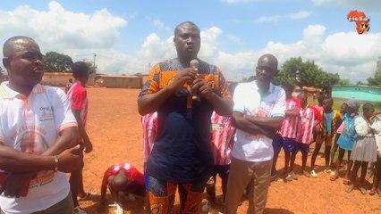 Cérémonie de distinction des élèves  de N'Guessankro