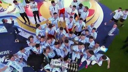 L'Argentine de Lionel Messi remporte (enfin) la Copa America