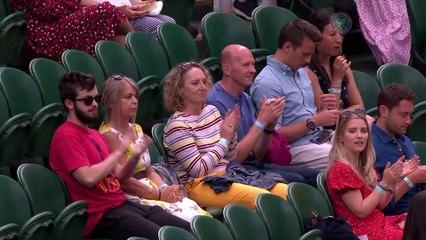 Neal Skupski and his American partner Desirae Krawczyk beat Joe Salisbury and Harriet Dart in the mixed doubles final at Wimbledon