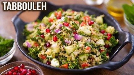 Tabbouleh Salad | How To Make Tabbouleh | Easy Salad Recipe | Herb Salad | Ruchi