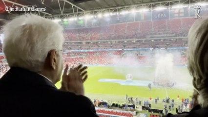 L'Italia vince l'Europeo a Wembley, l'esultanza di Mattarella è da 10