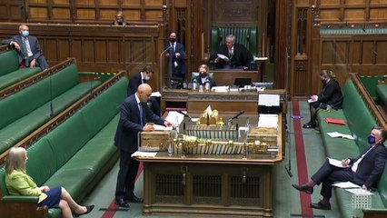 Sajid Javid confirms lockdown restrictions will be lifted on 19 July with Covid passes and home working to keep cases down