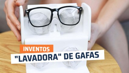 """LensHD, una """"lavadora"""" para gafas"""
