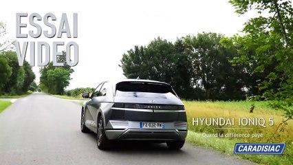 Essai  vidéo - Hyundai Ioniq 5 73 kW (2021): quand la différence paye