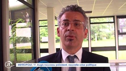 Le Journal - 12/07/2021 - MÉTROPOLE / F. Augis nouveau président, nouvelle crise politique