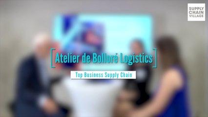 Bolloré Logistics présente son offre « REcycle » de réutilisation des consommables de transport lors du Top Business Supply-chain du 25 juin dernier !