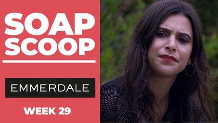 Emmerdale Soap Scoop! Meena meddles in Liam's grief