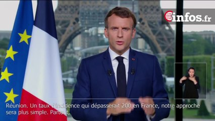 """Macron: """"Notre choix est simple : faire porter les restrictions sur les non-vaccinés plutôt que sur tous"""""""