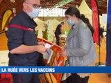 À la UNE : les restaurateurs et directeurs de cinéma inquiets du pass sanitaire / La ruée sur les vaccins à Saint-Etienne / Et la difficile mission des députés de la majorité pour convaincre les récalcitrants. - Le JT - TL7, Télévision loire 7