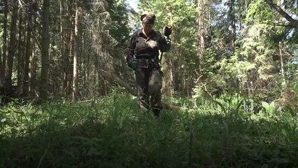 A busca por vestígios da Segunda Guerra numa floresta da Rússia