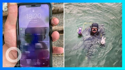 iPhone Jatuh di Pelabuhan, Langsung Ditemukan Orang Baik Hati - TomoNews