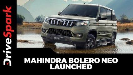 Mahindra Bolero Neo Launched At Rs 8.48 Lakh