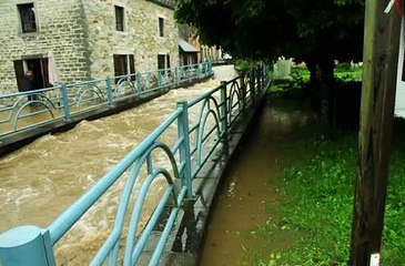 Inondations Grupont