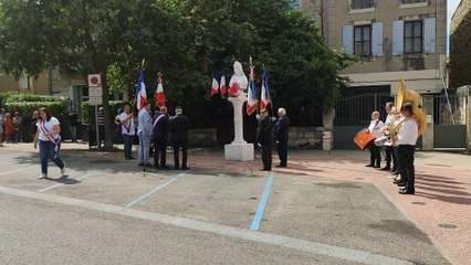 Montfrin : Cérémonie du 14 juillet