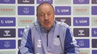 Rafa Benitez Everton unveiling and his ambitions