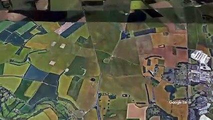 Stonehenge desde el aire
