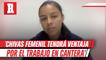 Jaqueline Rodríguez: 'Chivas femenil tendrá ventaja en el futuro por el trabajo en fuerzas básicas'