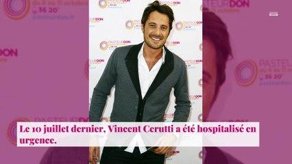 Vincent Cerutti sorti de l'hôpital : nouvelles sur sa santé et retrouvailles avec Hapsatou Sy