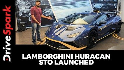 Lamborghini Huracan STO Launched At Rs 4.99 Crore - Walkaround Video
