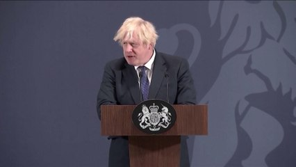 Boris Johnson gives 'levelling-up' speech saying 'this country is poised to recover like a coiled spring'