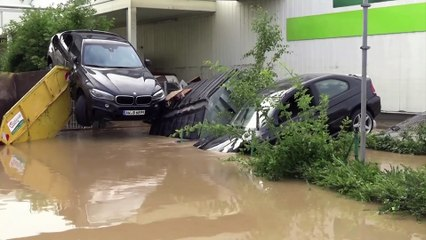 Heavy flooding causes significant damage in Germany's western state of Rhineland-Palatinate