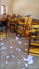 Fin de l'année scolaire : Les élèves du CEM Hann saccagent leur école