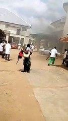 Togo : Terrible incendie au pavillon militaire du CHU SO
