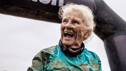 81-Year-Old Completes 'Tough Mudder' to Honor Late Husband