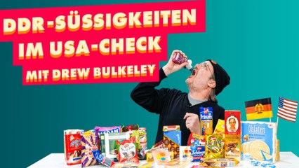 Amerikaner testet DDR-Süßigkeiten unserer Kindheit!