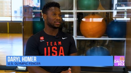 Toyota Proudly Supports U.S. Olympic Fencer Daryl Homer